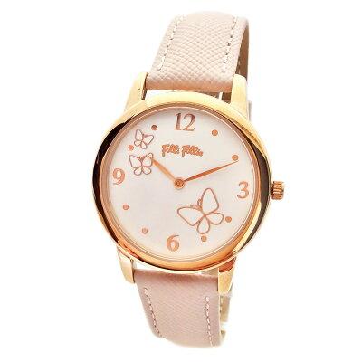 フォリフォリ 腕時計 レディース Folli Follie ワンダーフライ WONDERFLY ピンク ローズゴールド WF17R030SPS-PI