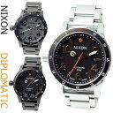 ニクソン 腕時計(メンズ) ニクソン 腕時計 NIXON オートマティック DIPLOMATIC 46mm ディプロマティック 選べるカラー3種類 メンズ