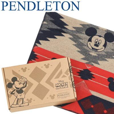 【クーポンで全品15%オフ】 ペンドルトン ミッキー ディズニー ブランケット コラボ 限定アイテム Pendleton ジャガード コラボ キッズブランケット DISNEY'S MICKEY'S FRONTIER KIDS' BLANKET