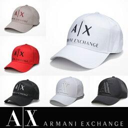 アルマーニ アメリカ正規入荷【A/X】アルマーニ・エクスチェンジ・ユニセックスARMANI EXCHANGE 正規キャップ ハット 帽子ax472 ホワイト ブラック