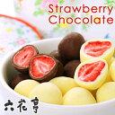 六花亭 チョコレート 母の日 プレゼント 六花亭 甘酸っぱさがおいしい ストロベリーチョコセット