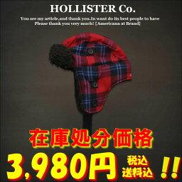 ホリスター カンパニー 【在庫処分】HOLLISTER Co. ホリスター Classic SoCal Hat メンズボアニットキャップ■Red Plaid/レッド【smtb-k】【kb】【楽天カード分割】