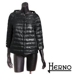 ヘルノ 送料無料 HERNO ヘルノ ライトダウンジャケット ショート丈 高級感のある綺麗なシルエット 超軽量なのにしっかり防寒 PI0613D 12017 [4135b]【4800円以上送料無料】