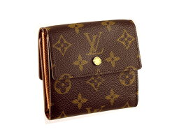 ルイヴィトン 二つ折り財布(レディース) LOUIS VUITTON M61654ルイヴィトン 財布ポルトフォイユ・ エリーズモングラム(ダークブラウン)