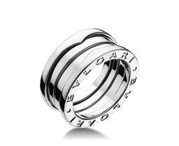 ブルガリ Bzero1 指輪(レディース) BVLGARI B-ZERO1 AN1910243BAND K18WG RING ブルガリ ビーゼロワン スリーバンド18金ホワイトゴールドリング※サイズ選択式