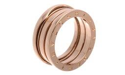 ブルガリ Bzero1 指輪(レディース) BVLGARI B-ZERO1 AN8524053BAND K18PG RING ブルガリ ビーゼロワン スリーバンド18金ピンクゴールドリング※サイズ選択式