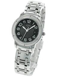 セリエ HERMES CP1.310.230.4966 CLIPPERエルメス クリッパー レディース腕時計ステンレススチールシルバー×グレー ※取寄品