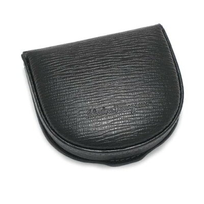 Salvatore Ferragamo 66-7042サルヴァトーレフェラガモ 財布馬蹄型コインケース型押しカーフレザー ブラック