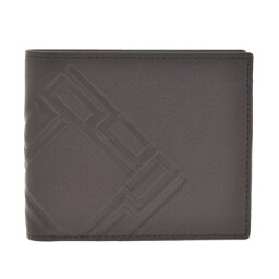 ダンヒル ダンヒルスタンプ 財布(メンズ) dunhill L2G632B STAMPダンヒル スタンプ 二折小銭財布型押レザー ダークブラウン