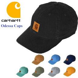 カーハート CARHARTT カーハート メンズ キャップ ストーンワッシュ オデッサキャップ ワッシュ加工 帽子 アメリカ usa フリーサイズ