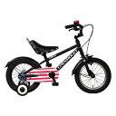 シボレー 【送料無料】GIC KID'S14BMX ブラック(33858) [子供用自転車(14インチ・補助輪付き)]【同梱配送不可】【代引き不可】【沖縄・北海道・離島配送不可】