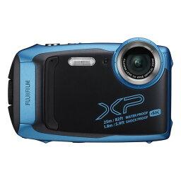 FinePix デジタルカメラ 防水 富士フィルム FinePix XP140 スカイブルー 耐衝撃 防塵 耐寒