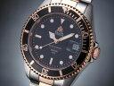 エルジン 腕時計(メンズ) エルジン ELGIN 腕時計 200m防水 自動巻き ダイバーズ FK1405PS-B コンビ