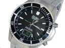 エルジン 腕時計(メンズ) エルジン ELGIN 電波ソーラー メンズ チタン 腕時計 FK1396TI-BP