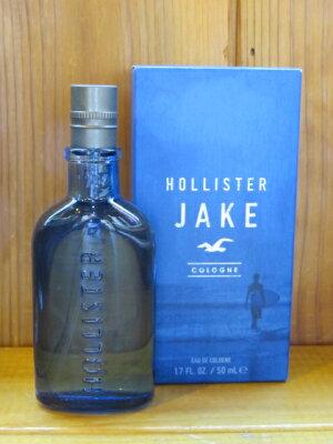 ■ホリスター(HOLLISTER)■メンズ香水 【JAKE】50ml■ 正規品保証■USA直営店買付