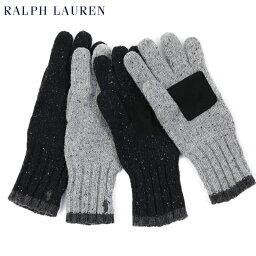 ラルフローレン 手袋(メンズ) POLO Ralph Lauren Lambs Wool Glove US ポロ ラルフローレン ニット グローブ 手袋