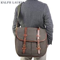 ラルフローレン POLO Ralph Lauren Twill & Leather Game Bag US ポロ ラルフローレン ショルダーバッグ ブリーフケース