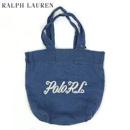 ラルフローレン POLO Ralph Lauren Cotton&Linen Tote Bag (PROV BLUE) US ポロ ラルフローレン トート バッグ ロゴ刺繍