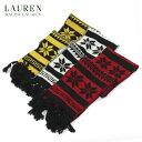 ラルフローレン マフラー(レディース) LAUREN by Ralph Lauren Nordic Knit Scarf US ポロ ラルフローレン ノルディック柄 ニットスカーフ マフラー