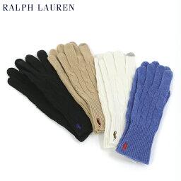 ラルフローレン 手袋(メンズ) POLO Ralph Lauren Merino Wool Touch Glove US ポロ ラルフローレン レディース ニット グローブ 手袋