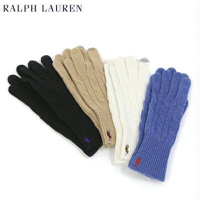 POLO Ralph Lauren Merino Wool Touch Glove US ポロ ラルフローレン レディース ニット グローブ 手袋
