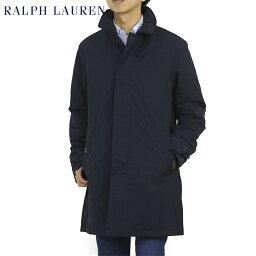 ラルフローレン ポロ ラルフローレン キルティングライニング シングル カーコート POLO by Ralph Lauren Men's Quiltlined Car Coat (UPS)