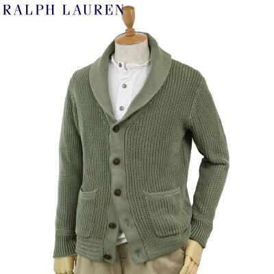 Ralph Lauren Men's Shawl Collar Cardigan US ポロ ラルフローレン ショールカラー カーディガン