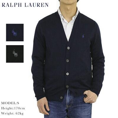 """ポロ ラルフローレン メンズ ピーマ綿 カーディガン Polo Ralph Lauren Men's """"PIMA COTTON"""" Cardigan Sweater US"""