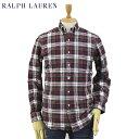 """ラルフローレン Ralph Lauren Men's """"STANDARD"""" Tartan Plaid Oxford B.D.Shirts US ポロ ラルフローレン オックスフォード ボタンダウン 長袖シャツ タータンチェック"""