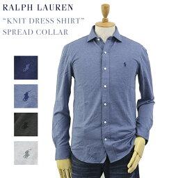 """ラルフローレン Ralph Lauren Men's """"KNIT DRESS SHIRT"""" Spread Collar Shirts US ポロ ラルフローレン スリムフィット ワイドカラー 長袖ニットシャツ"""