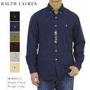"""ラルフローレン ポロ ラルフローレン 長袖 クラシックフィット ワンポイント刺繍 後染め ボタンダウンシャツ POLO Ralph Lauren Men's """"CLASSIC FIT"""" Washed-out l/s Oxford B.D.Shirts US (UPS)"""