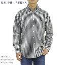 """ラルフローレン ポロ ラルフローレン オックスフォード ボタンダウン 長袖シャツ ギンガムチェック クラシックフィット POLO Ralph Lauren Men's """"CLASSIC FIT"""" Gingham Oxford B.D.Shirts US"""