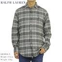 """ラルフローレン ポロ ラルフローレン ワイドカラー 長袖フランネルシャツ クラシックフィット POLO Ralph Lauren Men's """"CLASSIC FIT """" Spread-Collar Shirts US"""