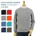 ラルフローレン POLO Ralph Lauren Men's Crew l/s T-shirts US ポロ ラルフローレン メンズ 無地 長袖Tシャツ ワンポイント