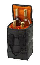 ボトルキャリーバッグ Handy Laundry ワインバッグ ワイン ボトルホルダー キャリー トートバッグ 4本用 ピクニック キッチン 雑貨 外出用 ギフト プレゼント おしゃれ シャンパン