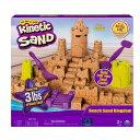 家 砂遊び キネティック サンド 砂のお城 プレイセット 室内 砂場 粘土のようにぎゅっと固まる