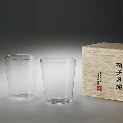 【エントリーでP5倍!2/16 1:59まで】松徳硝子 うすはり オールド (木箱入り) 2個セット 【 グラス コップ ロックグラス ギフト 】(2851020)<M>