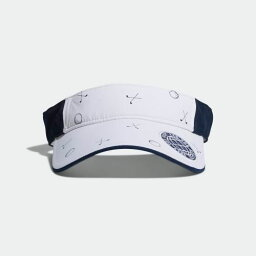 アディダス 【公式】アディダス adidas adicross モノグラムプリントバイザー 【ゴルフ】 レディース ゴルフ アクセサリー 帽子 サンバイザー CL2091 p0323