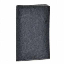 ヴァレクストラ ヴァレクストラ/VALEXTRA カードケース メンズ カーフスキン カードケース ダークネイビー V8L03-028-000U