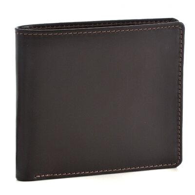 ホワイトハウスコックス/WHITEHOUSE COX 財布 メンズ ブライドルレザー 2つ折り財布 ブラウン×マスタード 2017年春夏 S2377-SC-0006