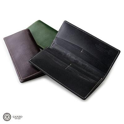 【GANZO】 ガンゾ BRIDLE CASUAL 財布 日本製 長財布