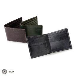 GANZO 【GANZO】 ガンゾ Bridle Casual ブライドルカジュアル 二つ折り財布 財布 日本製 メンズ