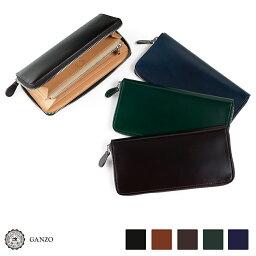 GANZO 財布(メンズ) 【GANZO】 ガンゾ Cordovan コードバン ラウンドファスナー長財布