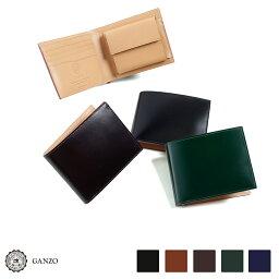 GANZO 財布(メンズ) 【GANZO】 ガンゾ Cordovan コードバン 二つ折り財布