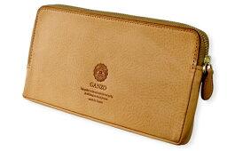 GANZO 長財布(メンズ) メンズ GANZO ガンゾ Minerva Natural ミネルバナチュラル ファスナー長財布