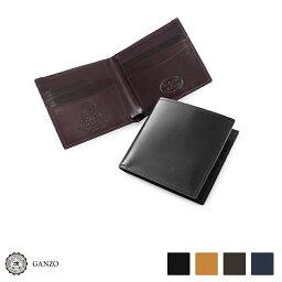 GANZO 【GANZO】 ガンゾ Shell Cordovan 2 シェルコードバン2 二つ折り財布 純札入れ