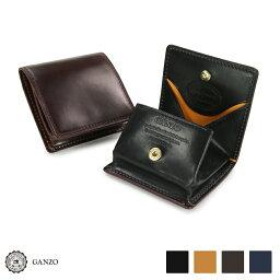 GANZO 【GANZO】 ガンゾ Shell Cordovan 2 シェルコードバン2 BOX小銭入れ 財布 日本製 メンズ