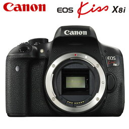 canon キヤノン デジタル一眼レフカメラ EOS Kiss X8i ボディ EOSKiss-X8i-BODY 【送料無料】【KK9N0D18P】