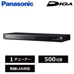 パナソニック パナソニック ブルーレイディスク レコーダー ディーガ 1チューナー 500GB HDD内蔵 DMR-BRS520 【送料無料】【KK9N0D18P】