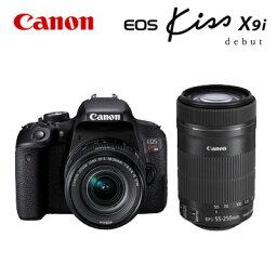 canon CANON デジタル一眼レフカメラ EOS Kiss X9i ダブルズームキット 1893C003 EOSKISSX9I-WKIT 【送料無料】【KK9N0D18P】